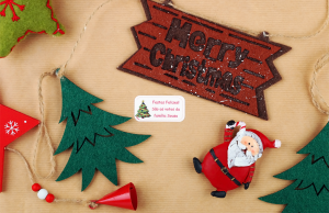 Etiquetas de Natal personalizadas