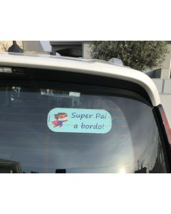Etiquetas Autocolantes para Carro