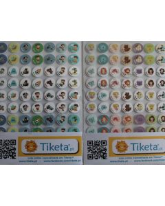 Bolinhas autocolantes para quadro de tarefas/recompensa (Lote 70)