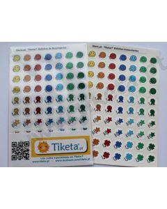 Bolinhas autocolantes para quadro de tarefas/recompensa (Lote 140)