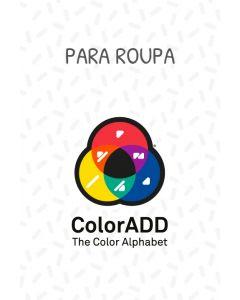Termoaderentes com Alfabeto das Cores ColorADD