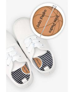 Etiquetas para Calçado Esquerda e Direita - Basket