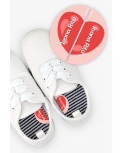Etiquetas para Calçado Esquerda e Direita - Coração