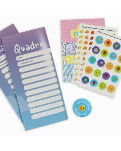Kit Quadro Recompensa