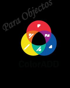 Autocolantes com o Alfabeto das  Cores ColorADD®